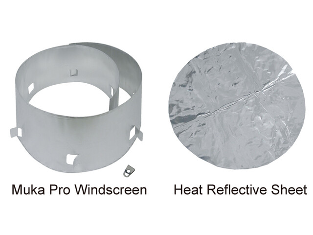 Soto Muka Pro Windscreen , harmaa